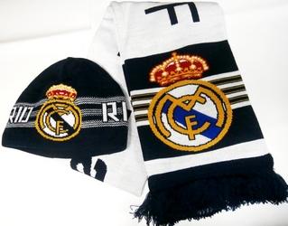 Набор шапка + шарф ФК Реал Мадрид 21ab34e5f1d